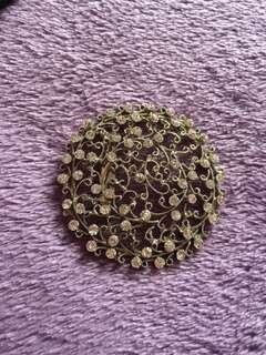 Giant Brooch / Keronsang besar - price is including postage to west Malaysia #MY1212