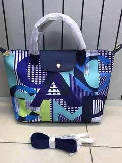 Longchamp canvas medium