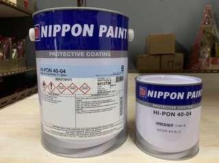 Nippon paint protective coating w/hardener