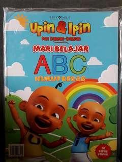 Upin & Ipin Dan Kawan-Kawan ~Mari Belajar ABC Huruf Besar