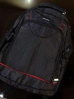Free delivery-Premium quality Pierre Cardin backpack