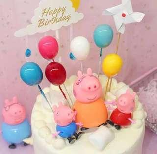 3D Balloons 🎈 Cake Topper Cupcake Decoration