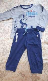 Thomas and Friend Pyjamas And Zara Track Pants