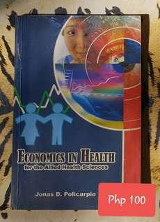 Economics for Health