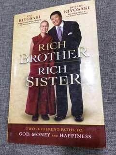 Rich Brother Rich Sister Robert Kiyosaki #MY1212