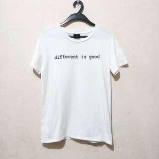Penshoppe Different is Good Tee