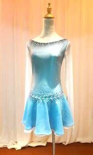 Ombre Ice Skating Costume #MY1212