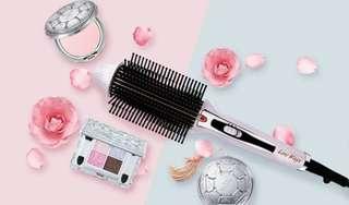 美髮神器-九排式兩用電熱造型梳