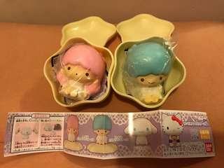 Sanrio Little twin stars 扭蛋一對