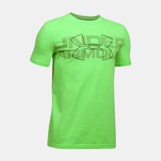 Under Armour Lime Twist Duo Armour Heatgear T shirt
