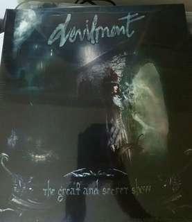 Sealed devilment record vinyl NB metal