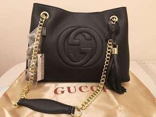 Gucci Soho Chain Tote Bag