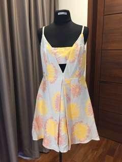 Topshop peekaboo summer dress