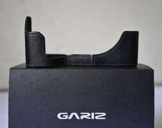 GARIZ Leather Half Case For Sony A7ii A7Rii
