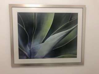 Painting (Abstract Leaf Prints)