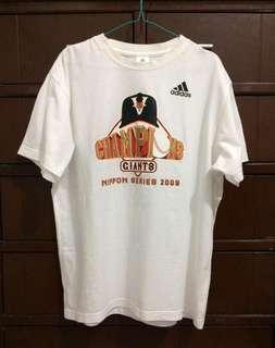 🔴Original Adidas Champion Giants Nippon Series 2009