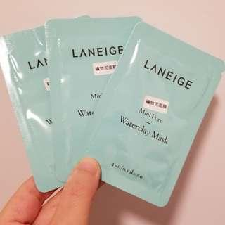Laneige Waterclay Mask 礦物泥面膜 sample
