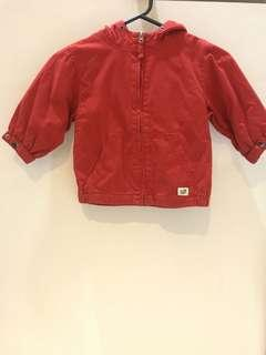 The Children place red Jacket