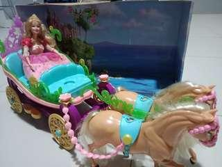 Barbie The Island Princess Carriage