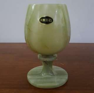 Marble footed cup