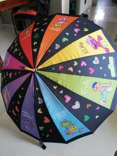 Sesame street umbrella