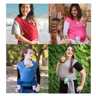 Cotton Baby Wrap Carrier