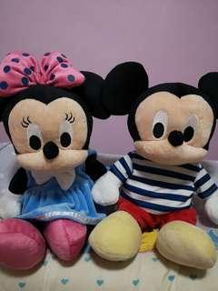 🎄Mickey & Minnie $46