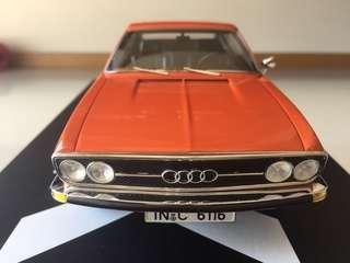 Audi 100 Coupe S 1970 in 1:18 Orange Limited Edition 400 pcs