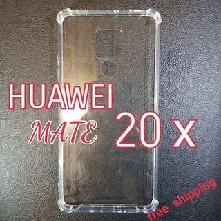 HUAWEI Mate 20x Anti Shock Proof Transparent Hard Cover Case