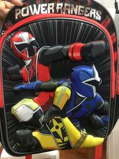New - backpack - power rangers