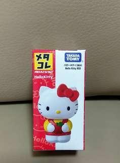 Takara TOMY  Hello Kitty Red Mini Metal Figure