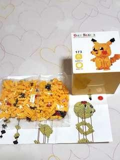 Pikachu building block