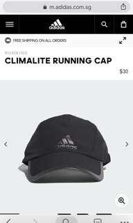 Adidas Climalite Running Cap Black