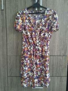 Floral Dress #MY1212