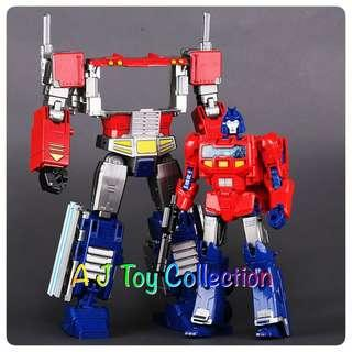 [ In Stock ] Transformers BlackMamba BMB 6002-8 Field Commander PP09 Optimus Prime