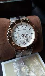 Authentic Michael Kors Acrylic Watch coach kate spade fossil guess marc jacobs