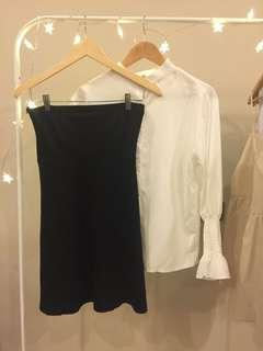 2pcs Blouse & Dress