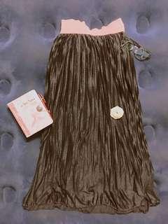 Black Electric Skirt