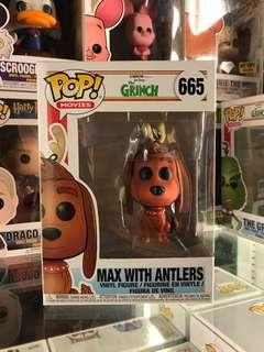 The Grinch Max With Antlers Funko Pop