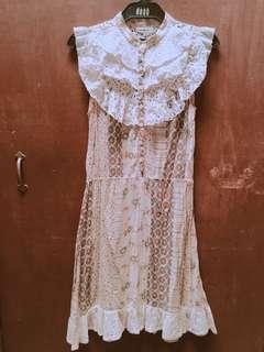 Floral and Lacey Dress