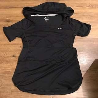 Nike 連帽長版運動上衣