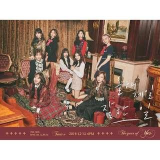 The year of yes Twice unsealed albums