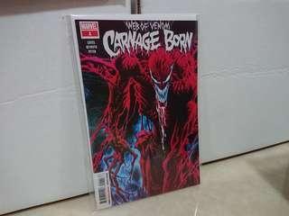 Web of venom carnage born