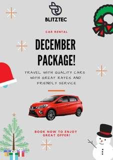 Car Rental Christmas offer!