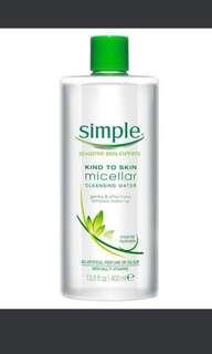 #1212 Simple Micellar Cleansing Water