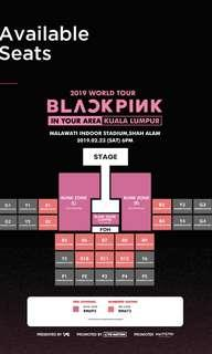 PRESALES BLACKPINK in KL BLINK OR RED ZONE #MY1212