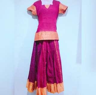 Pavadai/skirt  blouse