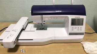 Nv800e brother embroidery and sewing machine free embroidery software