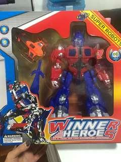 Super Robots - winner hero's transformer
