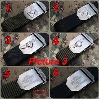 Men's Tactical Alloy Belt